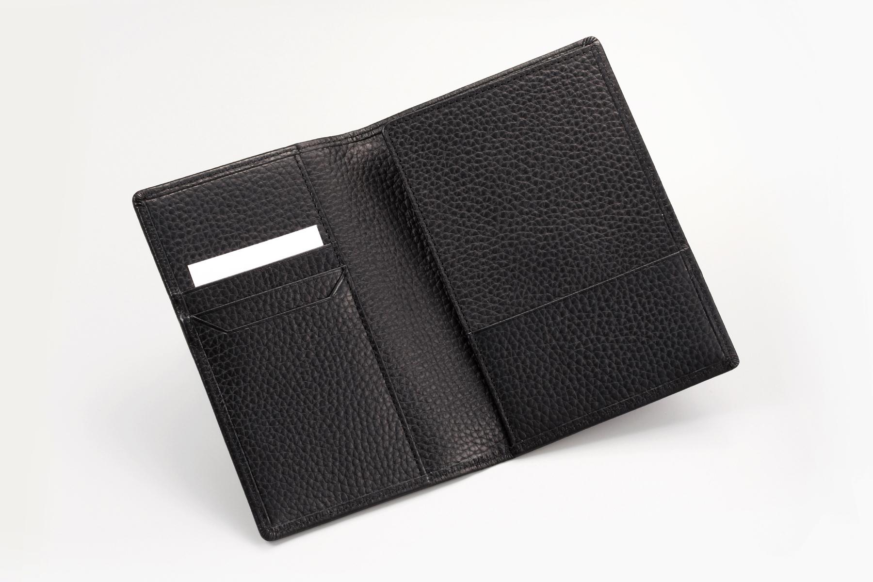 本革製パスポートケース・ノーブルの内側